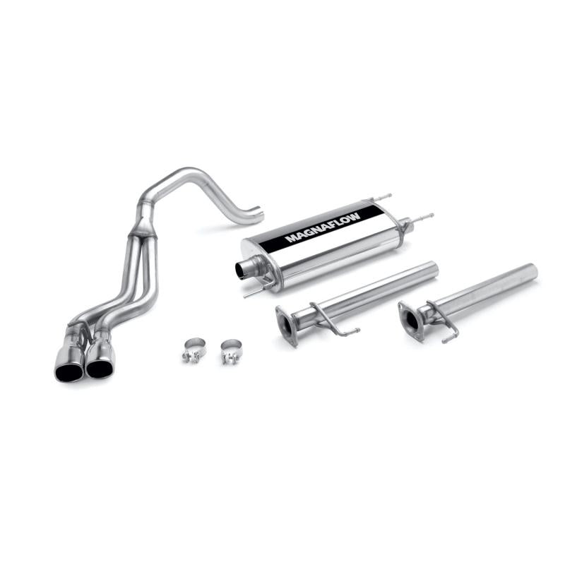 MagnaFlow MF Series Stainless Cat-Back System Toyota 4Runner 2003-2009 - 4x4 Runners