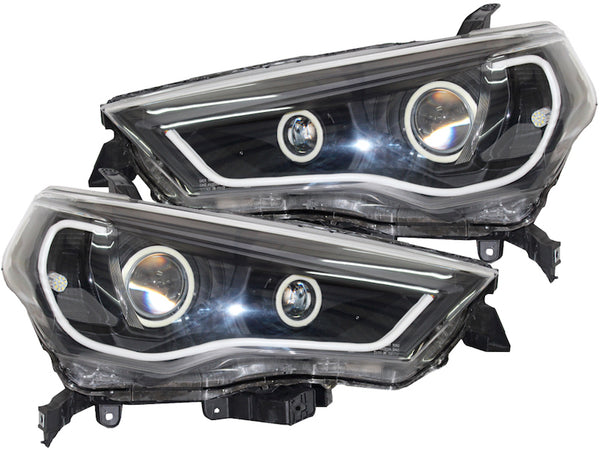 DUAL SWITCHBACK LED PROJECTOR HEADLIGHTS - Toyota 4Runner 5th Gen 2014-2020 - 4x4 Runners