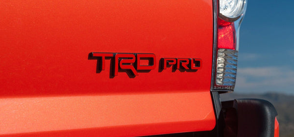 Premium Cast Vinyl Decals for 4Runner and Tacoma TRD Pro C-Pillar or Tailgate - 4x4 Runners