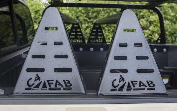 C4 Fabrication - MID HEIGHT BED RACK - Toyota Tacoma 3rd Gen 2016-2021 - 4x4 Runners