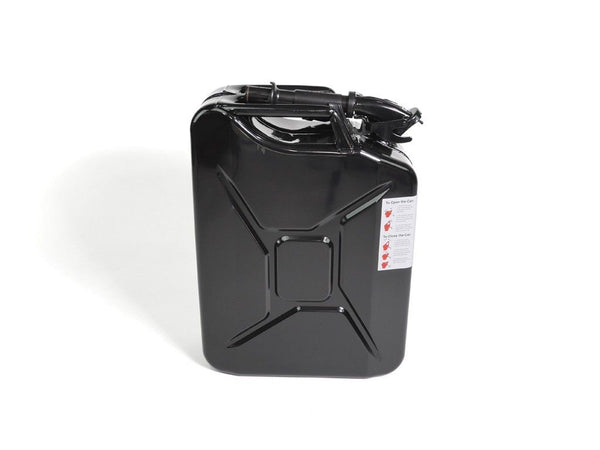 20L BLACK JERRY CAN W/ SPOUT AND ADAPTER - 4x4 Runners