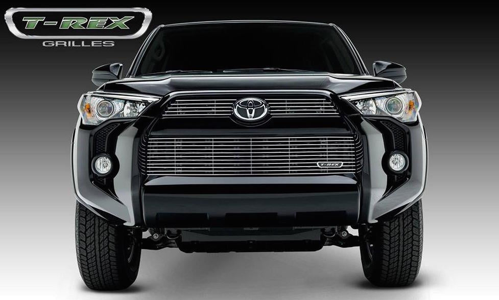 Grill, Polished, 3 Pc, Overlay - TOYOTA 4RUNNER 5TH GEN 2014-2019 - 4x4 Runners