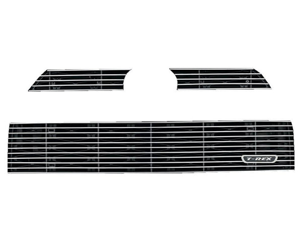 2014-2019 Toyota 4Runner Billet Grille, Polished, 3 Pc, Overlay - PN #21949 - 4x4 Runners