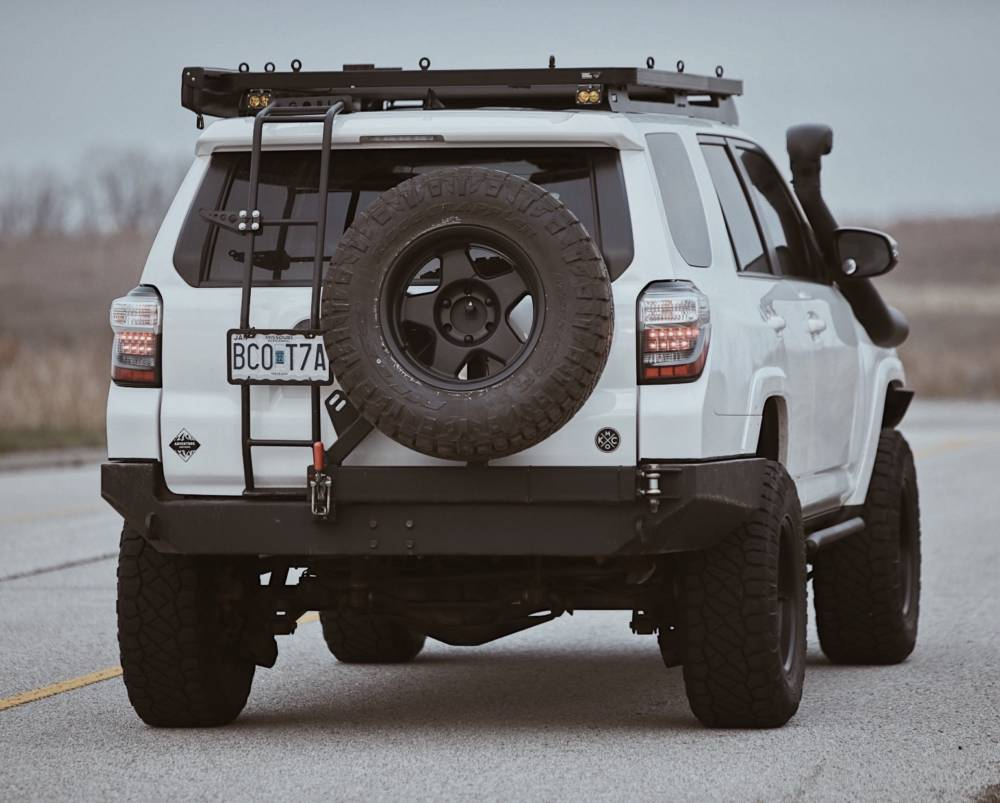 LOW PROFILE REAR PLATE BUMPER KIT - Toyota 4Runner 5th Gen 2010-2020 - 4x4 Runners