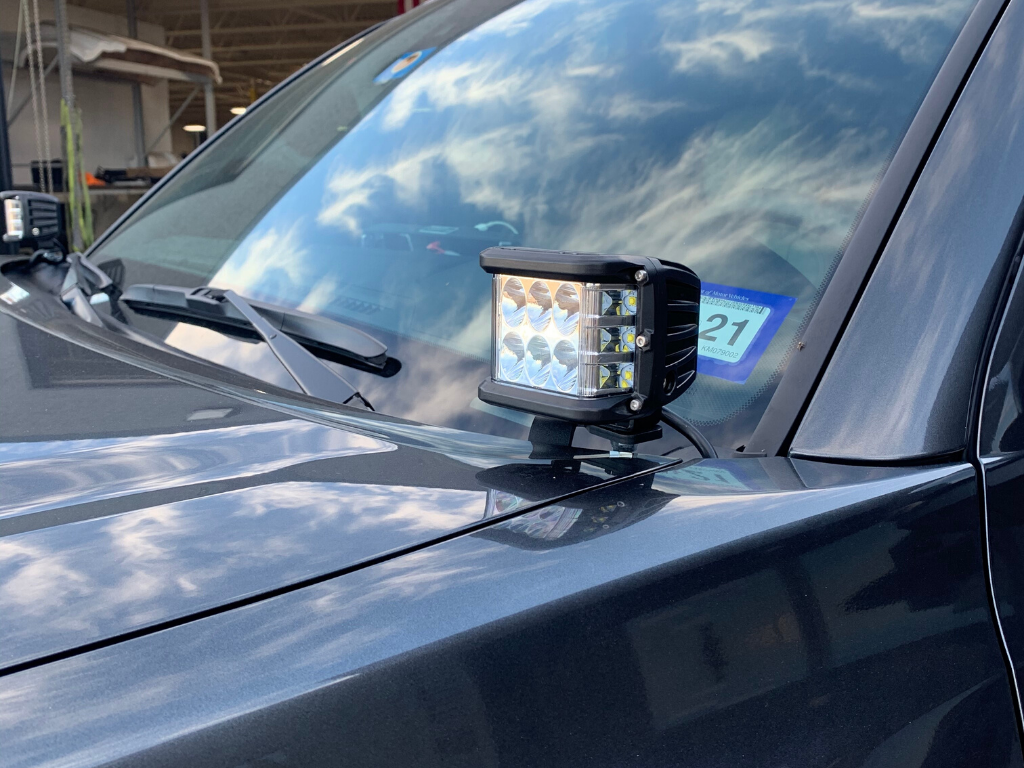 LOW PROFILE DITCH LIGHT COMBO - TOYOTA TACOMA 2016-2020 - 4x4 Runners