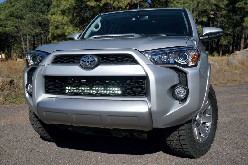 LED Light Bar w/Behind Grille Mount System - Toyota 5th Gen 4Runner 2014-2019 - 4x4 Runners
