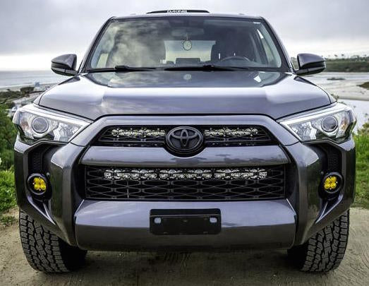 "Baja Designs 30"" Light Bar Grille Kit w/ OnX6+ Toyota 4Runner 2014-2019 - 4x4 Runners"