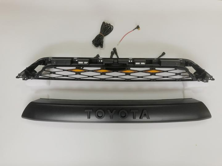 Pro Grille with Raptor Lights  - Toyota 4Runner 5th Gen 2014-2019 - 4x4 Runners