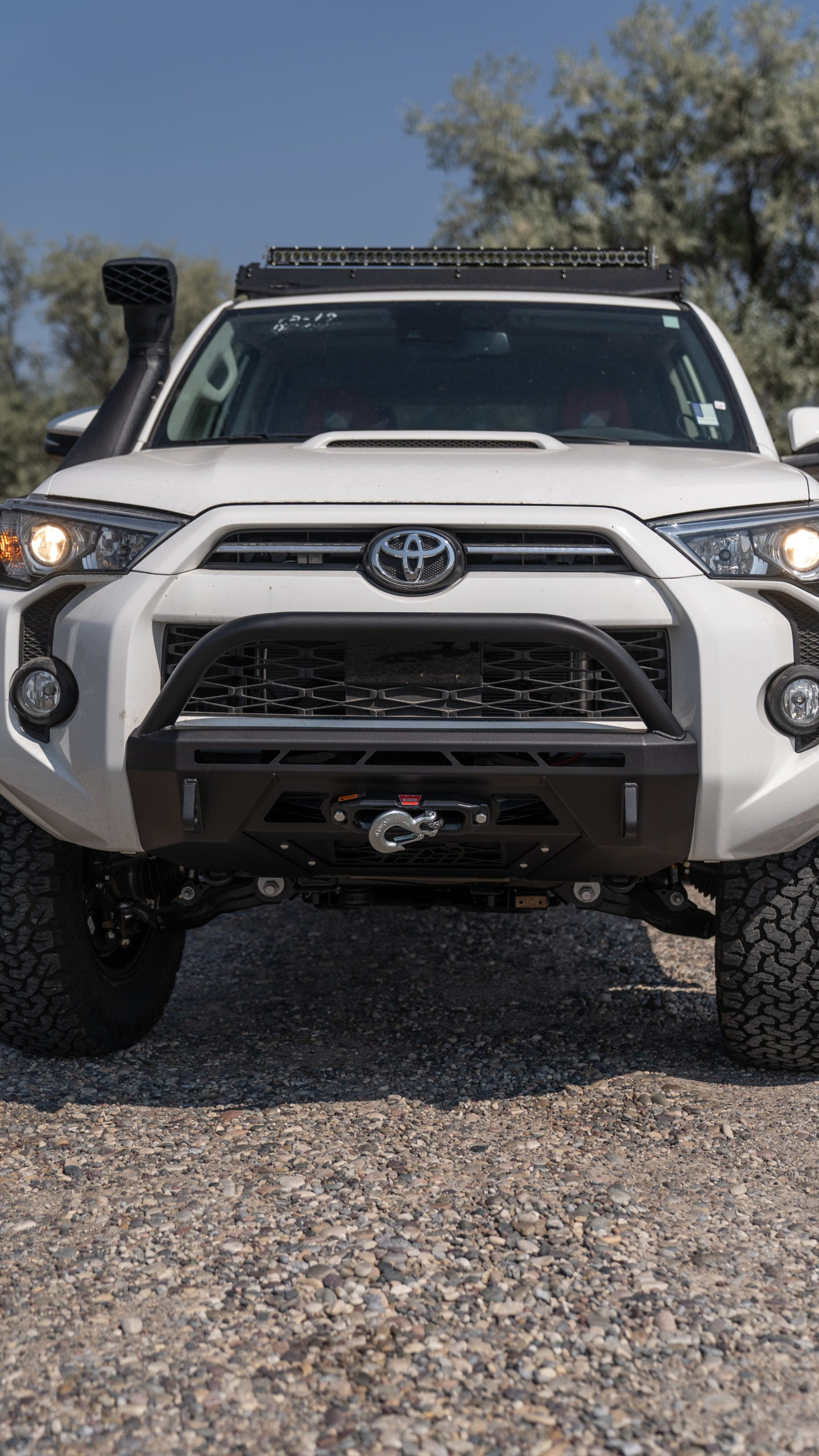 CBI - Covert Baja Series Front Bumper - Toyota 4Runner 5th Gen 2014-2021 - 4x4 Runners