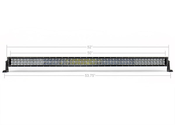 "52"" CURVED 5D DUAL ROW 5D OPTIC OSRAM LED BAR - 4x4 Runners"