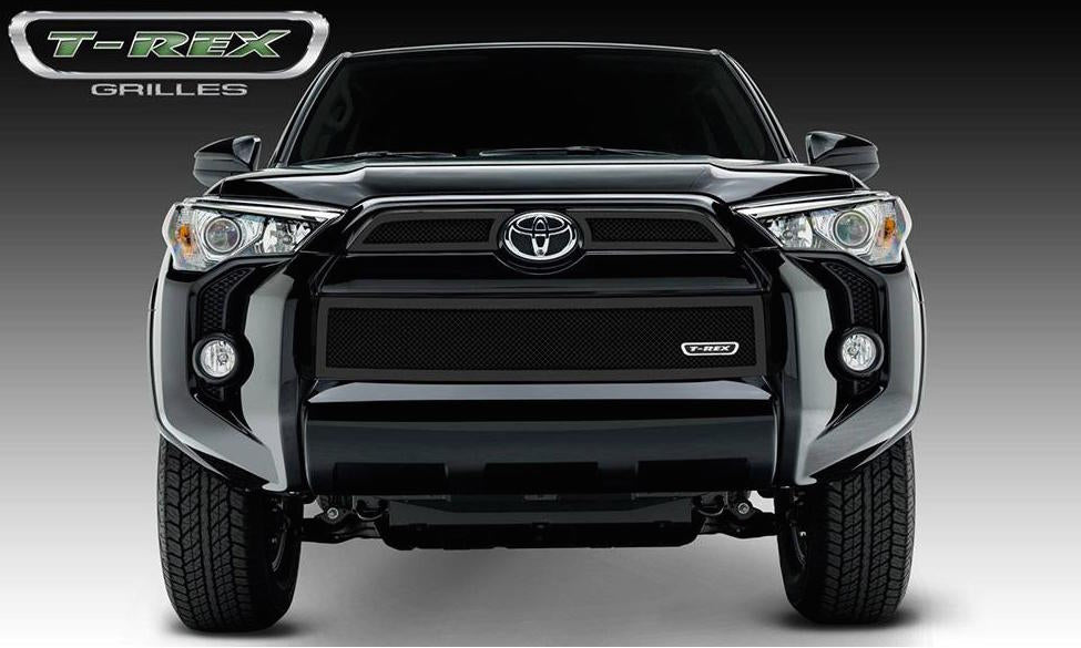 Grille, Black, 3 Pc, Overlay - TOYOTA 4RUNNER 5TH GEN 2014-2019 - 4x4 Runners