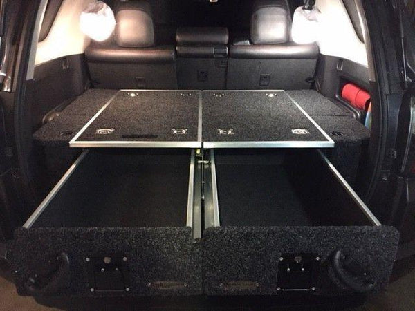 DOBINSONS - REAR DUAL ROLLER DRAWER SYSTEM W/ Fridge Slide - TOYOTA 4RUNNER 5TH GEN 2010-2021 - 4x4 Runners
