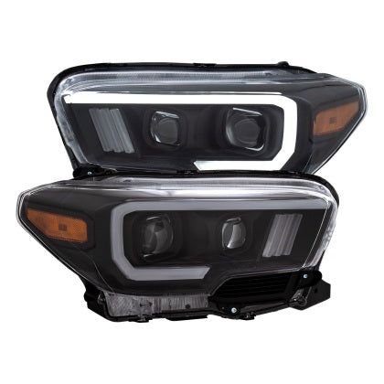 ANZO - Projector Headlights - Toyota Tacoma 3rd Gen 2016-2020 - 4x4 Runners
