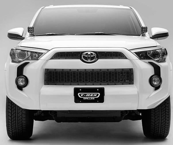 Grille, Black, 3 Pc, Overlay, Black Studs - TOYOTA 4RUNNER 5TH GEN 2014-2019 - 4x4 Runners