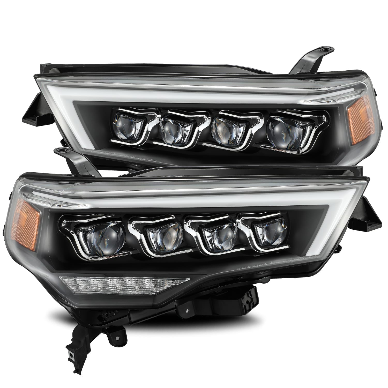 AlphaRex - NOVA-Series LED Projector Headlights Black - Toyota 4Runner 5th Gen 2014-2021 - 4x4 Runners