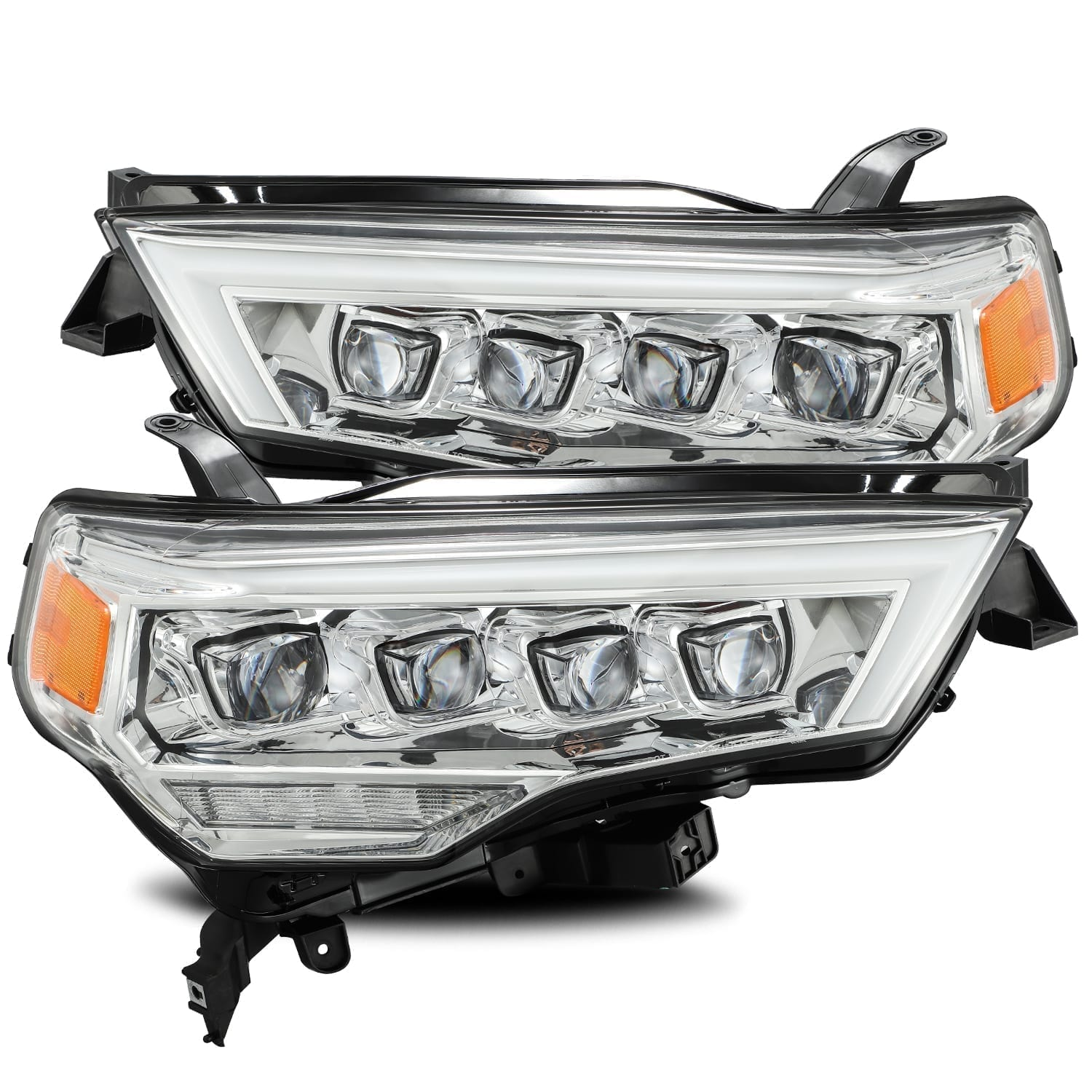 AlphaRex - NOVA-Series LED Projector Headlights Chrome - Toyota 4Runner 5th Gen 2014-2021 - 4x4 Runners