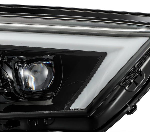 AlphaRex - NOVA Series LED Projector Headlights Alpha Black - Toyota 4Runner 5th Gen 2014-2021 - 4x4 Runners