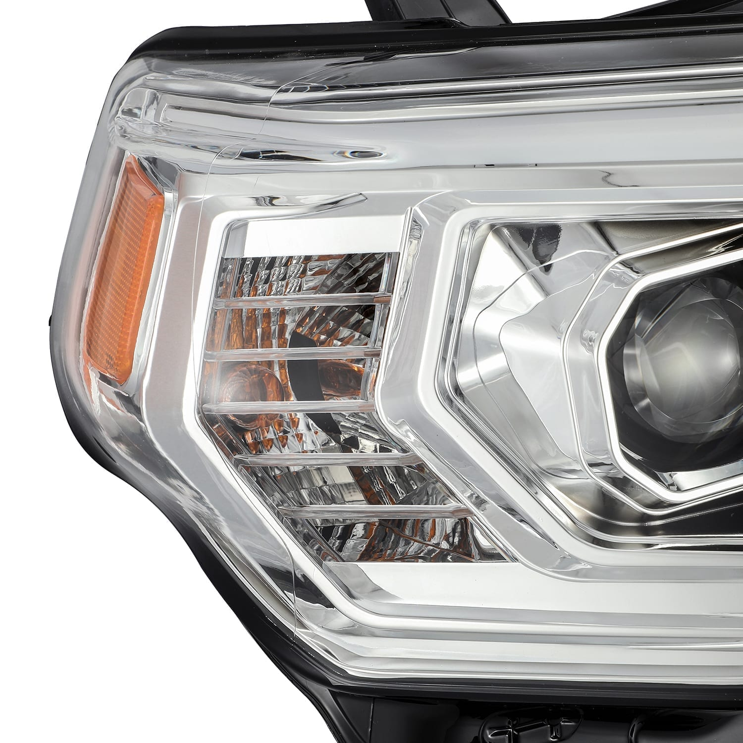 AlphaRex - LUXX-Series LED Projector Headlights Chrome - Toyota 4Runner 5th Gen 2014-2021 - 4x4 Runners