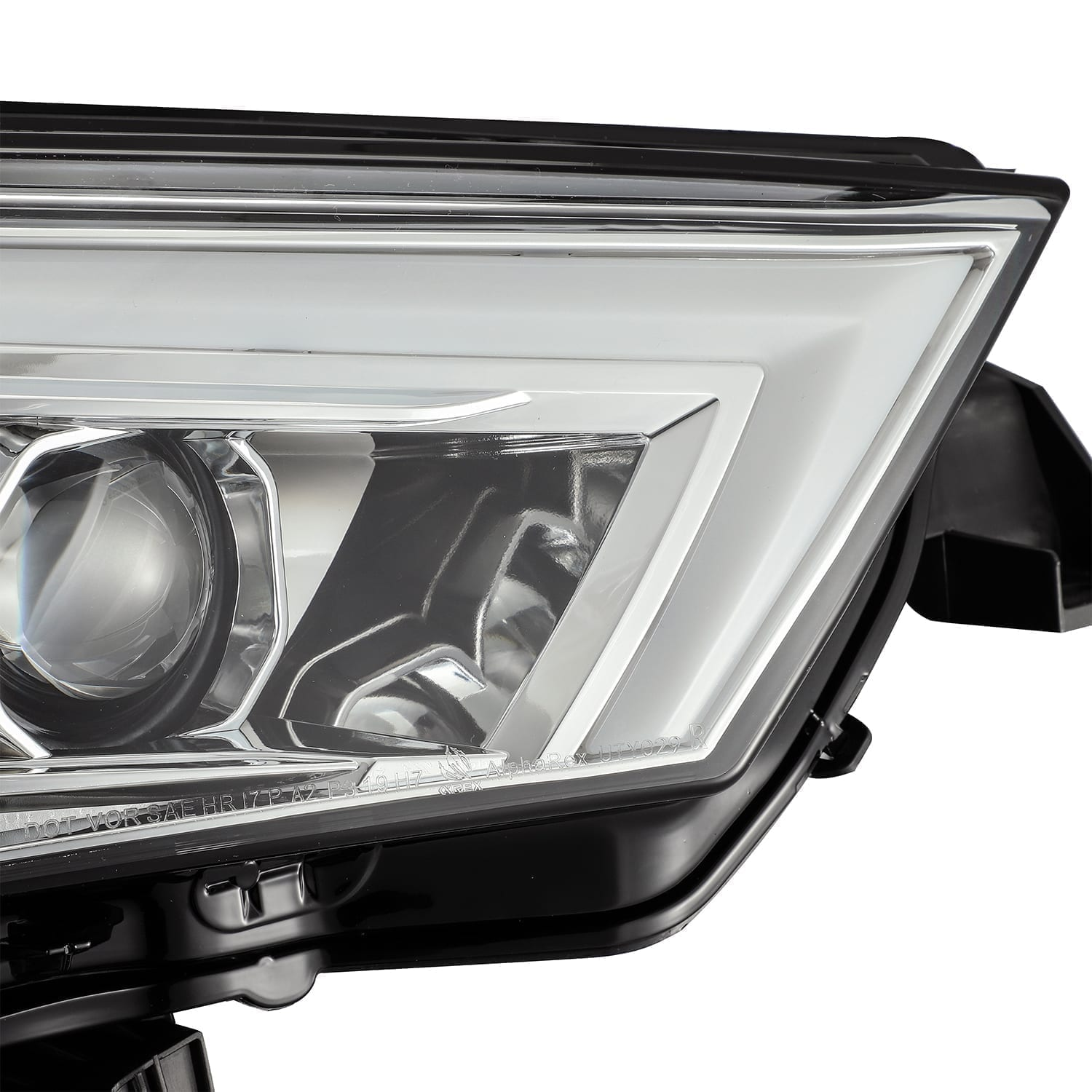 AlphaRex -PRO Series Projector Headlights Chrome - Toyota 4Runner 5th Gen 2014-2021 - 4x4 Runners