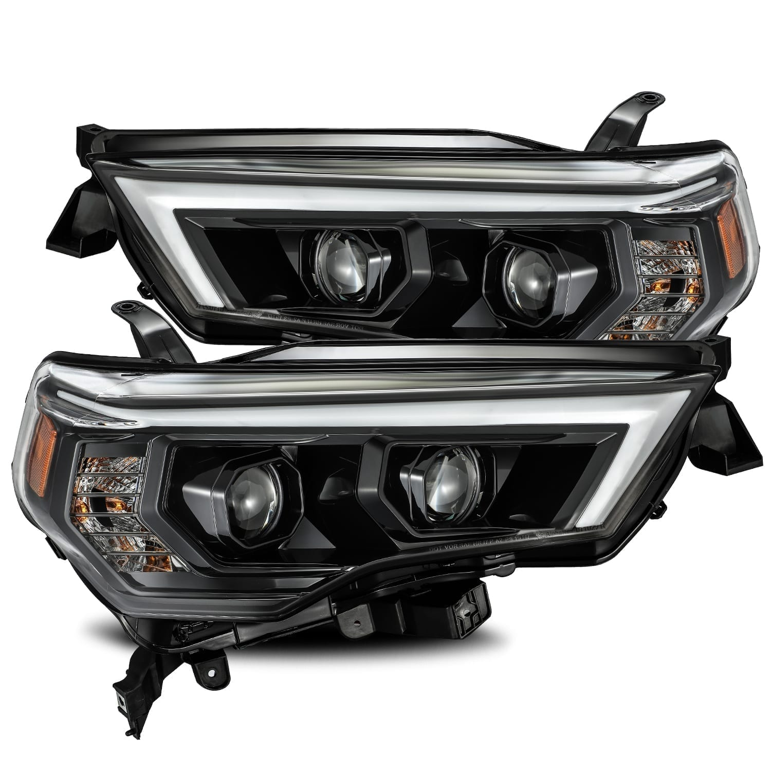 AlphaRex - PRO-Series Projector Headlights Alpha-Black - Toyota 4Runner 5th Gen 2014-2021 - 4x4 Runners