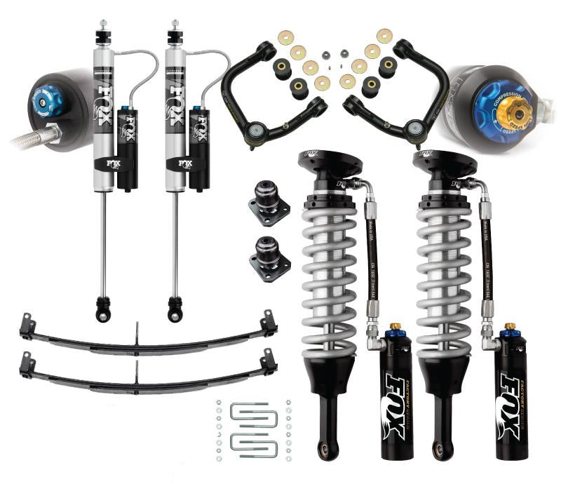 FOX - Stage 2A Mild Travel Suspension Kit - Tacoma 2005 - 2020