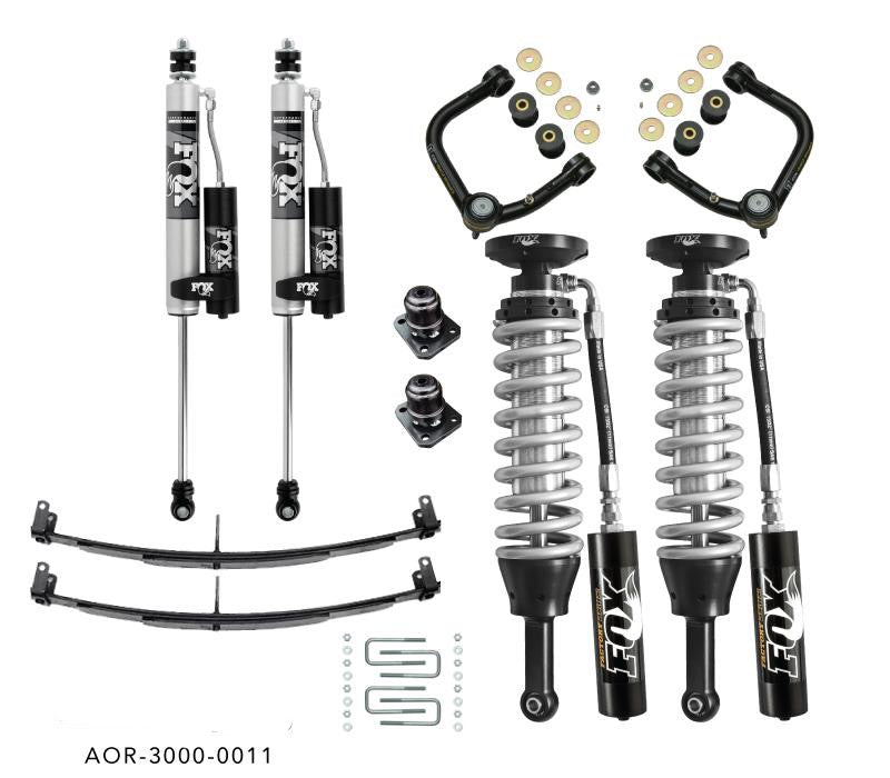 FOX Stage 2 - Mild Travel Suspension Kit - Tacoma 2005 - 2020 - 4x4 Runners