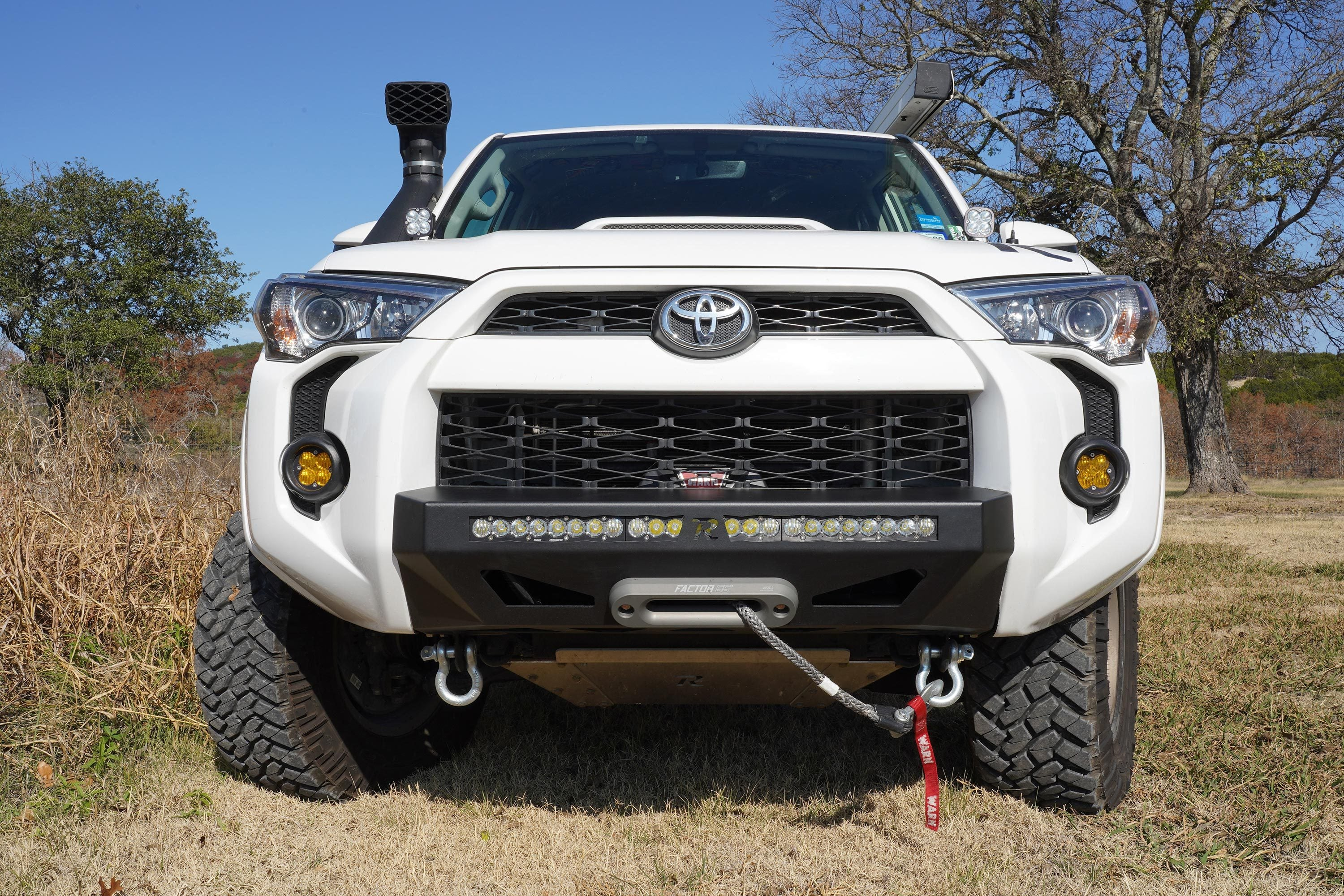 RAGO - LOW PROFILE  BUMPER - TOYOTA 5TH GEN 4RUNNER 2014-2020 - 4x4 Runners