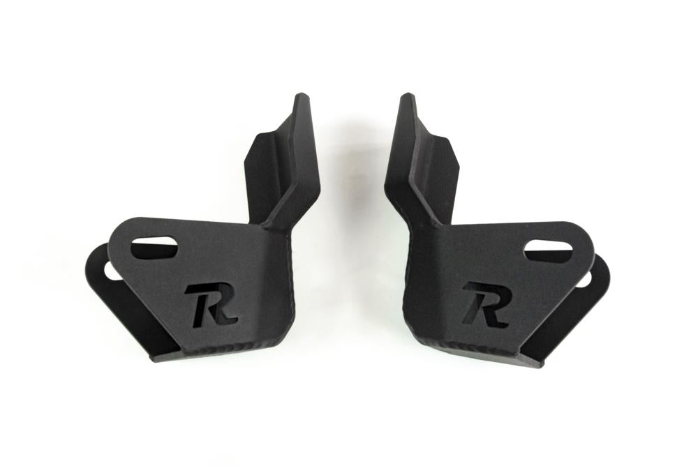 2010-2019 5TH GEN TOYOTA 4RUNNER - LOWER SHOCK GUARD - PAIR - 4x4 Runners