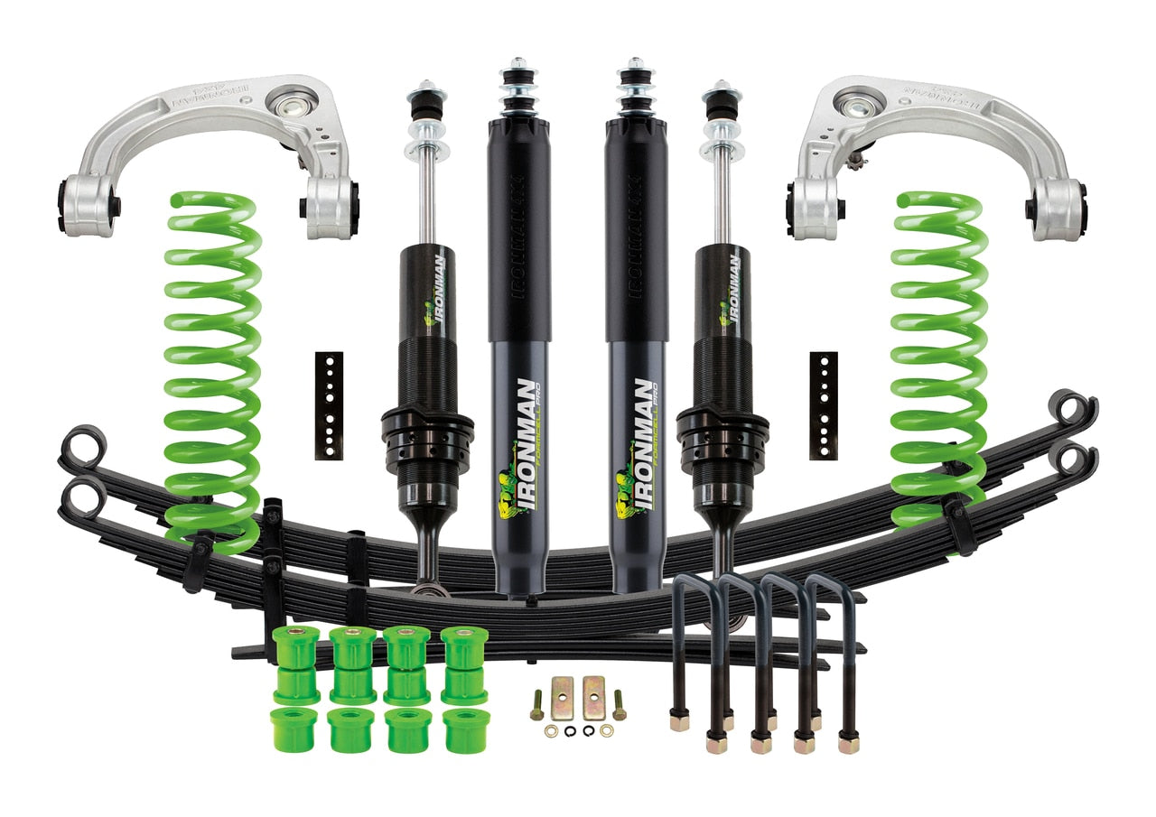 IronMan Stage 2 - FOAM CELL PRO SUSPENSION KIT - Toyota Tacoma 2005-2020 - 4x4 Runners