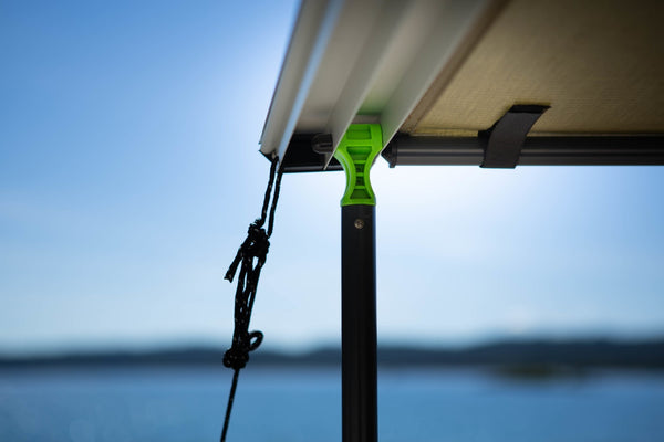 INSTANT AWNING WITH LED LIGHTING/DIMMER 2.5M (L) X 2.5M (OUT)  Ironman 4x4 - 4x4 Runners