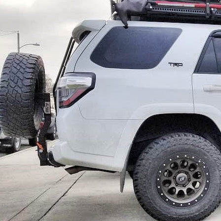 Rigid Armor - Spare Tire Hitch Carrier - Toyota 4Runner 1998-2021 - 4x4 Runners