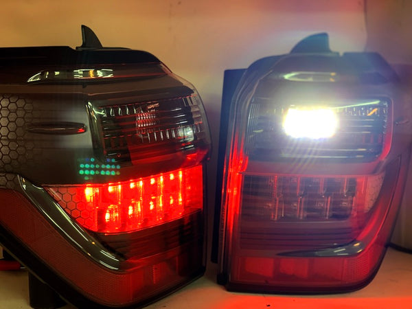 HID Retro Fit Kit - OFF ROAD LED TAIL LIGHTS W/ Rigid Reverse Lights  - Toyota 4Runner 5th Gen 2010-2021 - 4x4 Runners