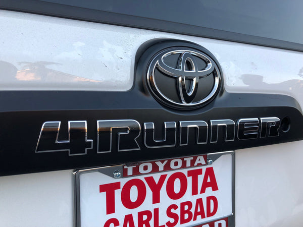 Premium Cast Vinyl Decals for 2010-2020 4Runner Liftgate - TVD Vinyl Decals
