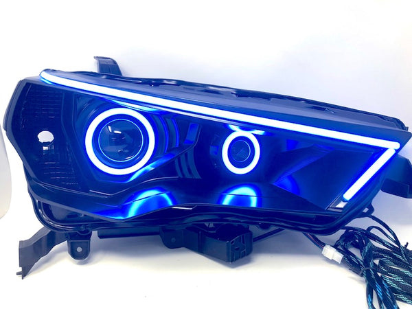 COMPLETE COLOR-SHIFT LED HEADLIGHTS - Toyota 4Runner 5th Gen 2014-2020 - 4x4 Runners