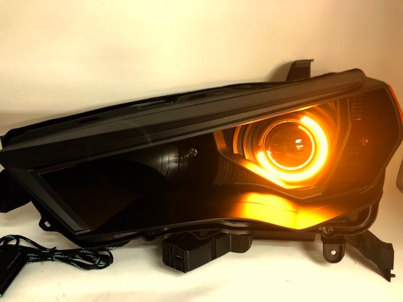 HEADLIGHTS LED HALOS MULTI COLOR - Toyota 4Runner 5th Gen 2014-2020