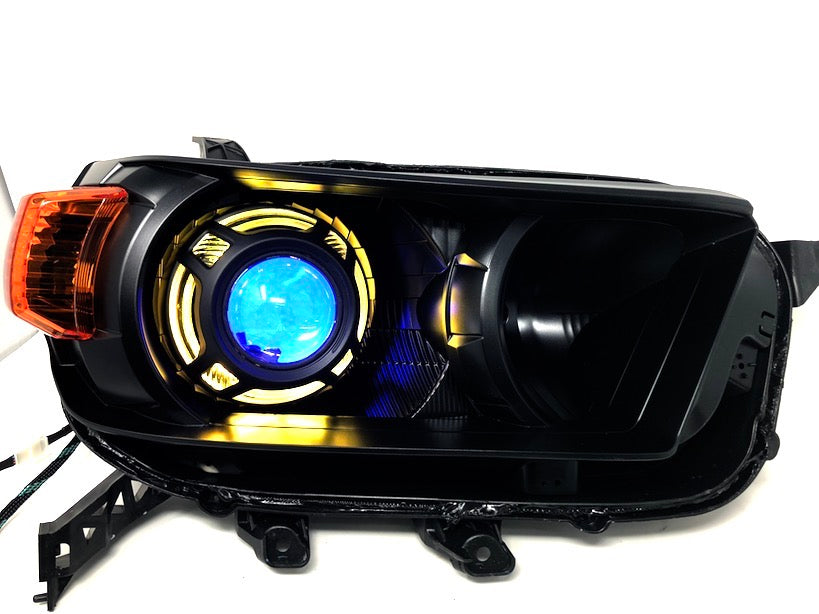 RGBW LED HALO PROJECTOR HEADLIGHTS - Toyota 4Runner 5th Gen 2010-2013 - 4x4 Runners