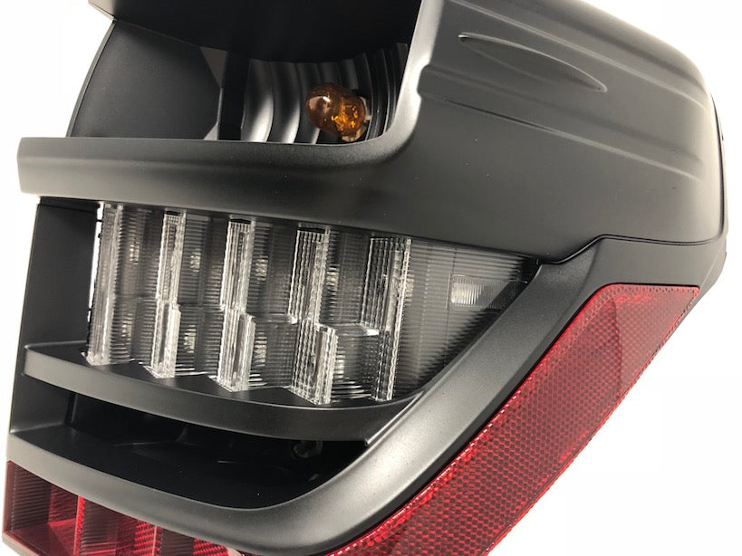 BLACK LED TAIL LIGHTS - Toyota 5th Gen 2014-2020