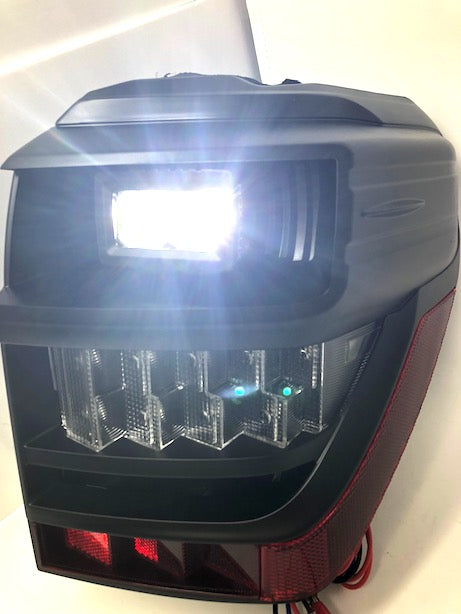 BLACK LED TAIL LIGHTS - Toyota 5th Gen 2014-2020 - 4x4 Runners