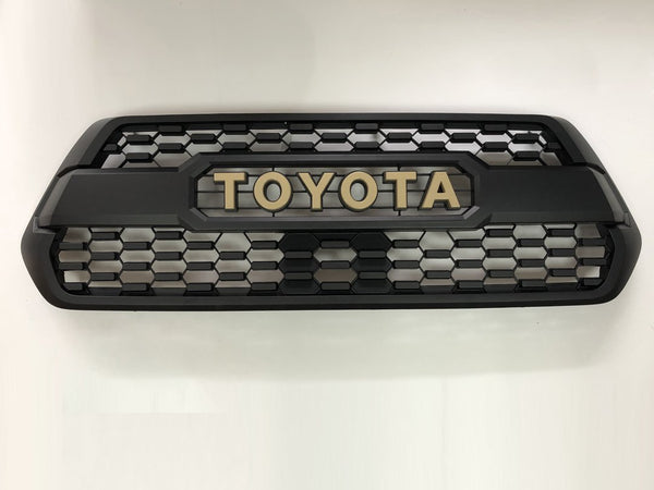 Trd Pro Style Grille Grille - Toyota Tacoma 3rd Gen 2016-2019 - 4x4 Runners