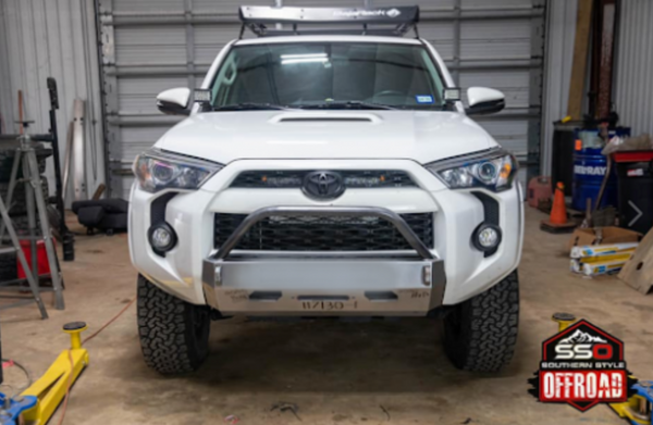 Southern Style Off Road - SLIMLINE HYBRID FRONT BUMPER WITH ACCESS HOLES - Toyota 4Runner 5th Gen 2014-2021 - 4x4 Runners