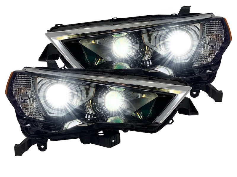 LED PROJECTOR CUSTOM HEADLIGHTS - Toyota 4Runners 2014-2020 - 4x4 Runners