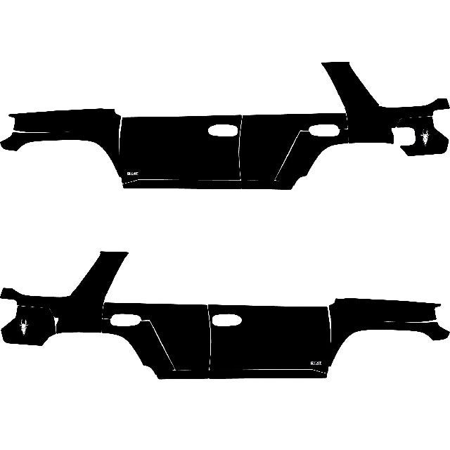 Black Set - Toyota 4Runner 2010 - Current - 4x4 Runners
