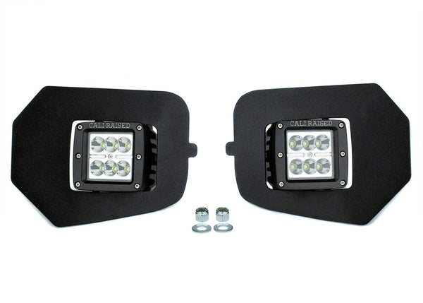 LED FOG LIGHT POD REPLACEMENTS COMBO - TOYOTA TACOMA 3rd GEN 2016 - 2020 - 4x4 Runners