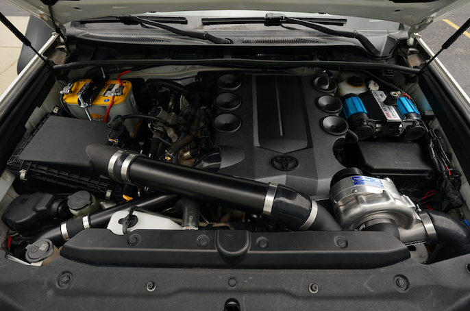 Procharger HO Intercooled System w/ D-1SC SUPERCHARGER - Toyota 4Runner 5th GEN 2010-2020 - 4x4 Runners