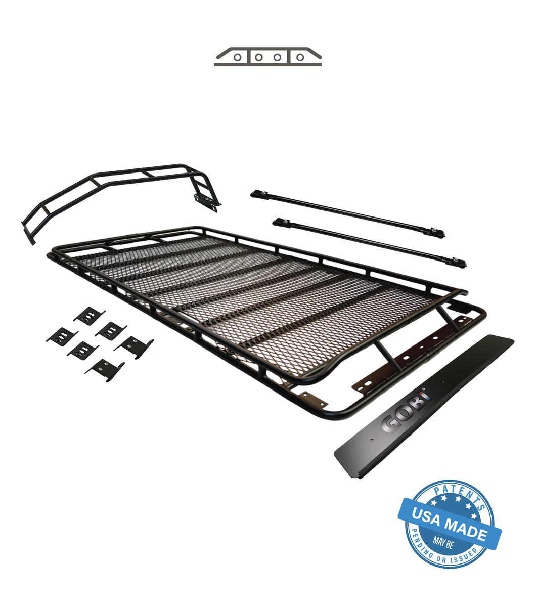 Gobi - Stealth Rack - NO Sun Roof - Multi Light Set Up - Toyota 4Runner 5th Gen 2010-2021 - 4x4 Runners