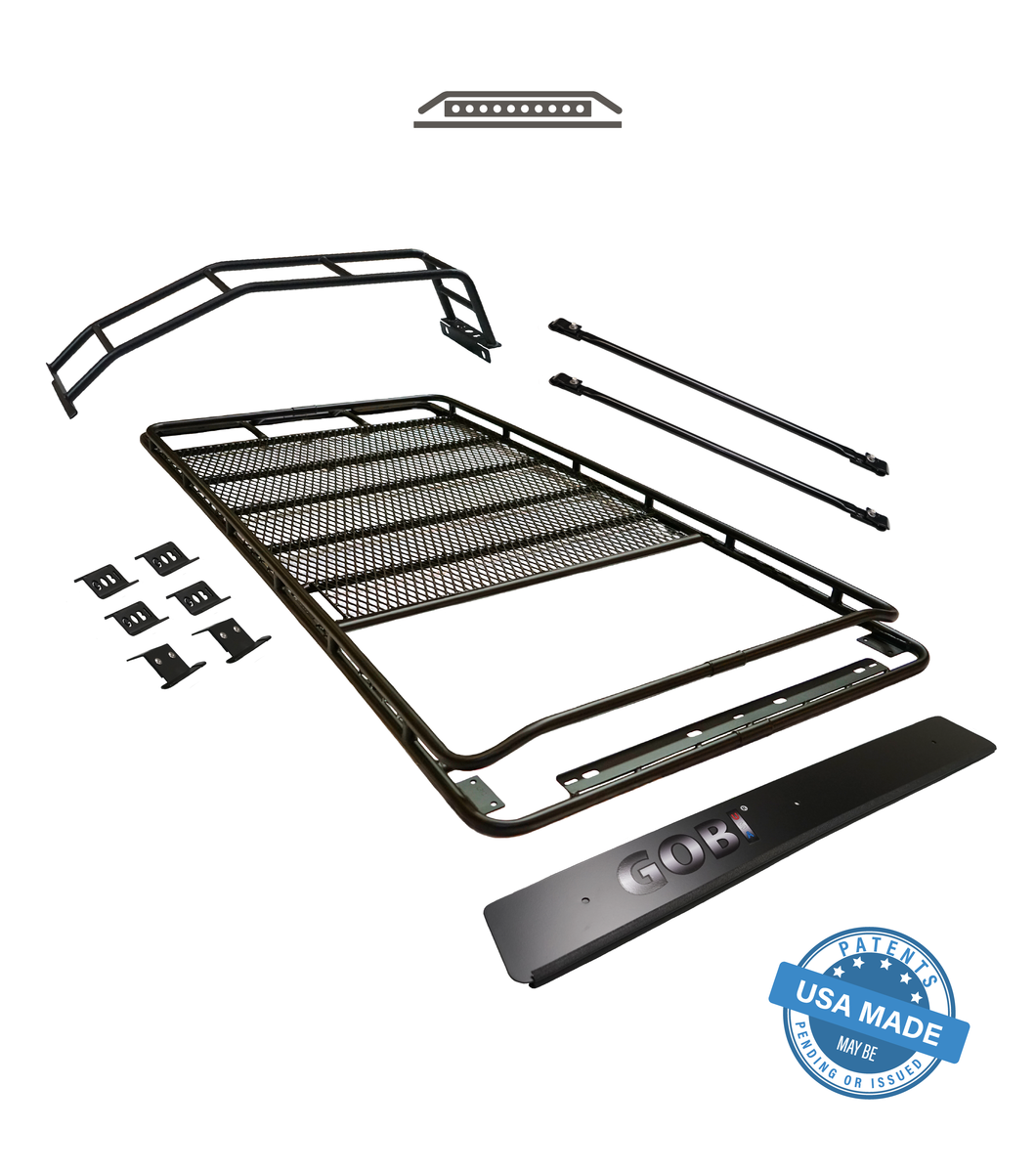 Gobi - Stealth Rack - Light Bar Set Up - Sun Roof - Toyota 4Runner 5th Gen 2010-2021 - 4x4 Runners
