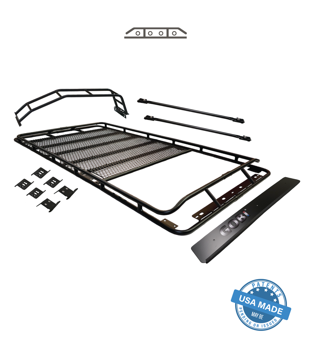 Gobi - Stealth Rack -  Sun Roof - Multi Light Set Up - Toyota 4Runner 5th Gen 2010-2021 - 4x4 Runners
