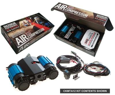 ARB ON-BOARD HIGH PERFORMANCE 12 VOLT TWIN AIR COMPRESSOR 5TH GEN 4RUNNER - 4x4 Runners