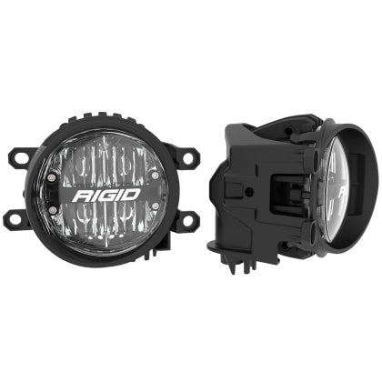 Rigid Industries - 360-Series 4in LED SAE J583 Fog Light (WHITE PAIR) -Toyota 4Runner 5th Gen 2014-2021 - 4x4 Runners