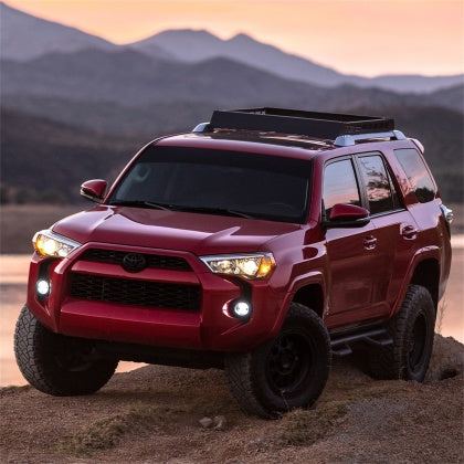 Rigid Industries - 360-Series 4in LED SAE J583 Fog Light (WHITE PAIR) -Toyota 4Runner 5th Gen 2014-2020 - 4x4 Runners